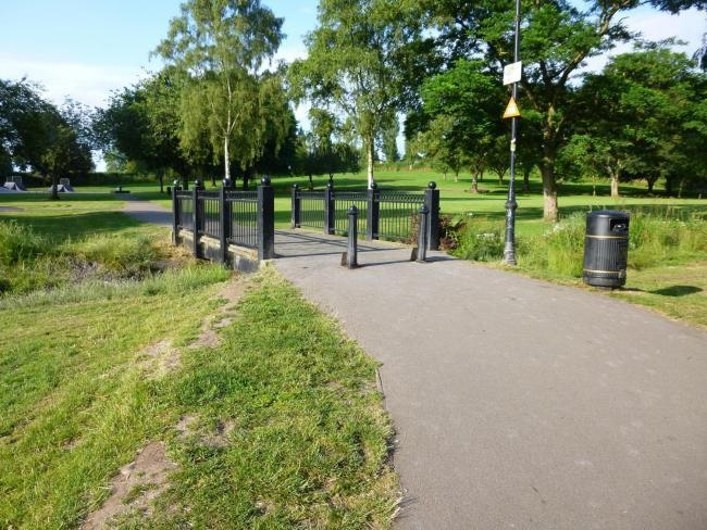 Public toilets in Sanders Park are among those to reopen from July 6.