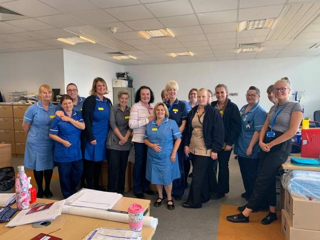Thank you to, all of Kingswinford and Brierley Hill district nursing team, helping to keep people safe in their homes and care homes. You do an amazing job