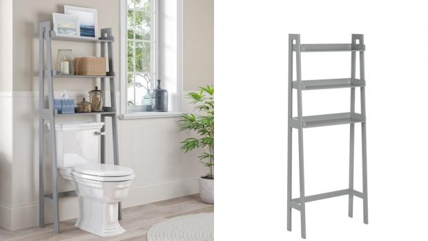 Bromsgrove Advertiser: Over-the-toilet units provide a lot more storage space. Credit: Wayfair