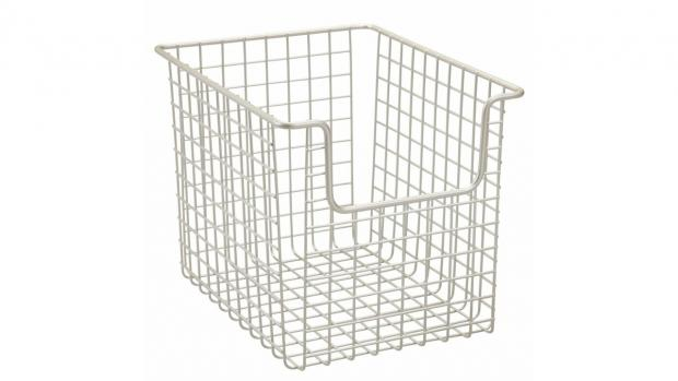 Bromsgrove Advertiser: Baskets can help organise all your bathroom essentials. Credit: Amazon