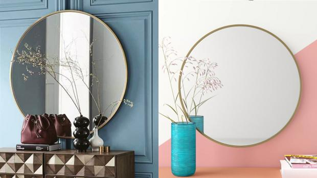 Bromsgrove Advertiser: A bigger, more modern mirror will create the illusion of more space. Credit: Wayfair