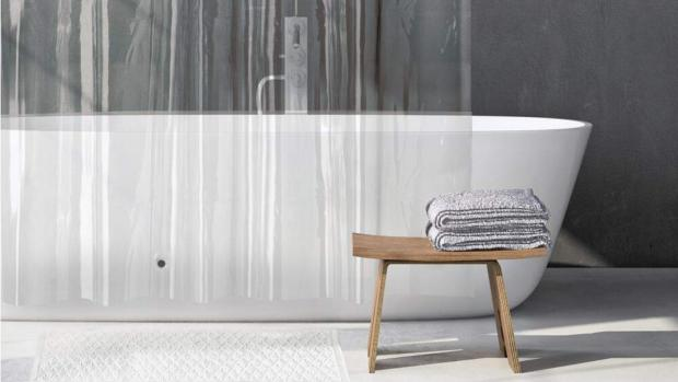 Bromsgrove Advertiser: A clean shower liner will make your bathroom much more welcoming. Credit: Amazon