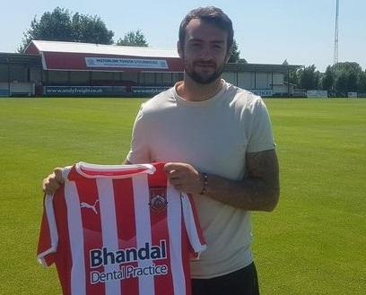 Richard Peniket joins Stourbridge. Picture: Stourbridge FC