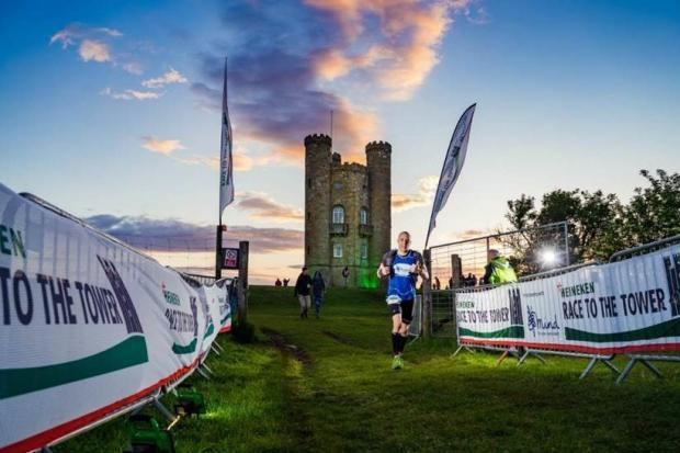 Race To The Tower is an epic 52-mile trail event