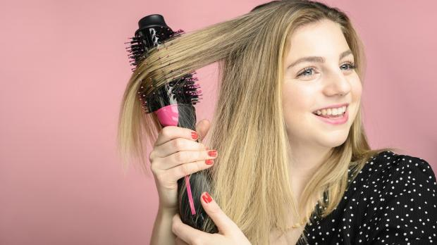 Bromsgrove Advertiser: This Revlon hair dryer brush is better than any hair dryer I've ever used. Credit: Reviewed / Betsey Goldwasser