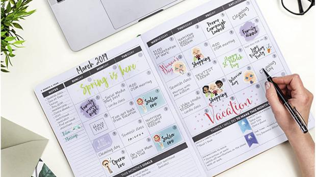 Bromsgrove Advertiser: Stay organised with this planner. Credit: Clever Fox
