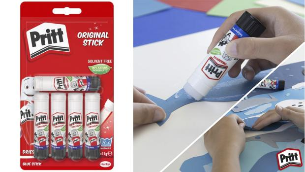Bromsgrove Advertiser: Don't worry. These glue sticks are washable. Credit: Pritt
