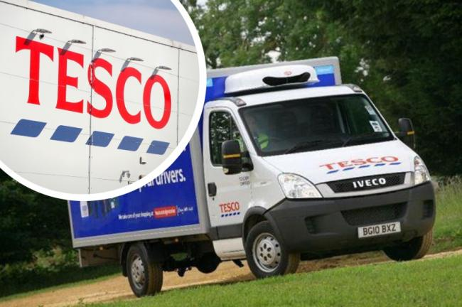 Tesco speak out after 'surge in demand' online for Christmas delivery slots. Picture: Newsquest