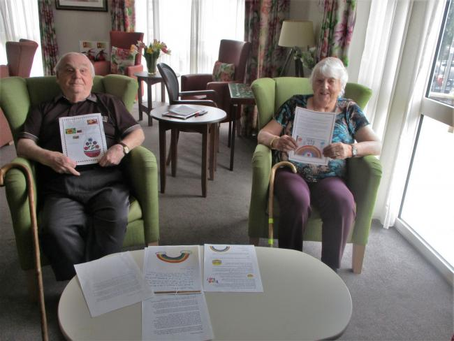 Chandler Court residents Horace Pritchett and Kathleen Tedstone