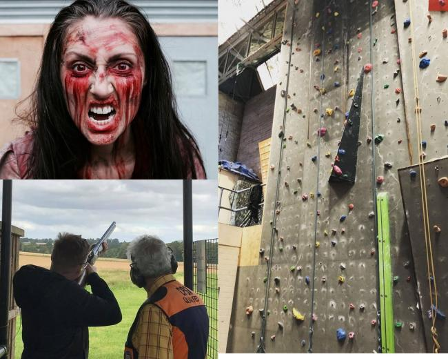 Activities in Worcestershire you can do in groups of six (Photo: Pixabay, @parkfarmshoot, @VerticalLimitIndoorRockClimbing))