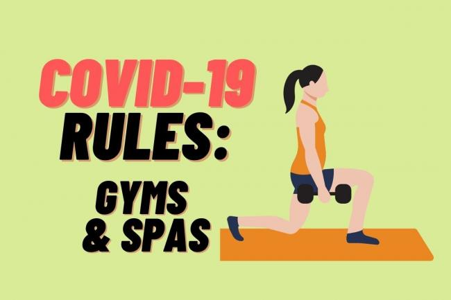 Covid-19 rules: What to know if you're heading to the gym or spa