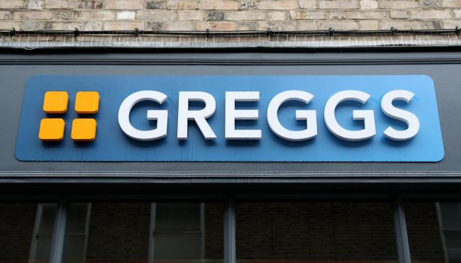 Greggs store. Credit: Andrew Matthews/PA Wire