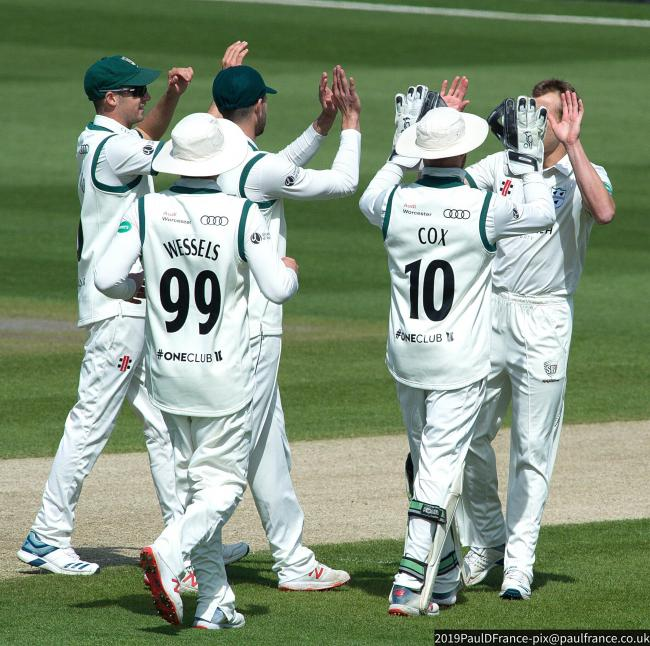 GREEN LIGHT: Worcestershire unchanged from pre-season matches with Kent and Durham as 2021 season begins at Essex. Pic: Paul France