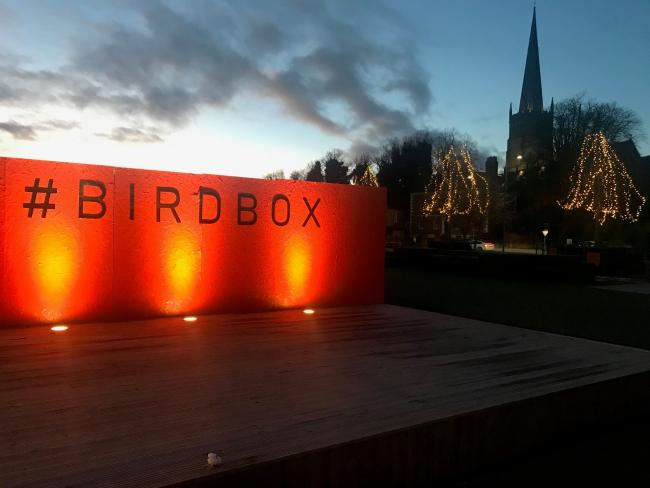 BirdBox was launched to hold events from pop up restaurants and craft markets to youth festivals and multimedia evenings.