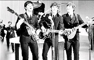 Bromsgrove Advertiser: STARS: The Beatles performed at King George's Hall, in June, 1963