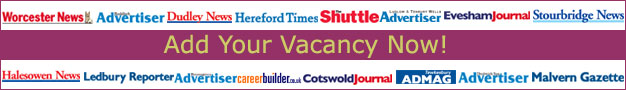 Bromsgrove Advertiser: Online Job Posting Offer