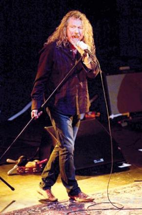 EX LED ZEPPELIN: Robert Plant is to play the Big Chill Festival with Kanye West