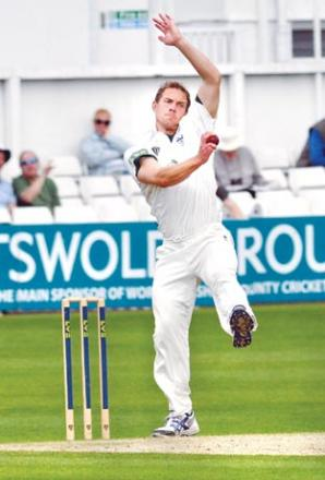 GARETH ANDREW: We want to keep him at Worcestershire.