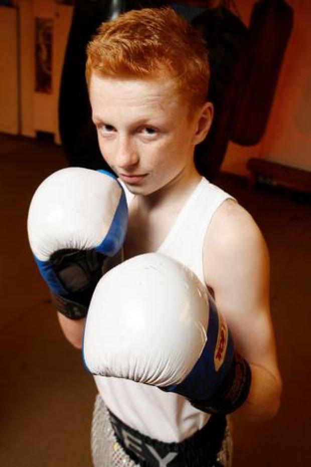 Midlands mojo: Mikey O'Toole has progressed to the National Schools Finals after winning the Midland Counties title for the second year running.