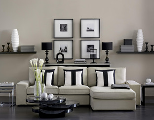 Good order: Simplicity is the key for Kelly Hoppen.
