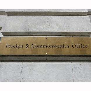 The Foreign Office said it is in close touch with the Chinese authorities and Mr Heywood's family