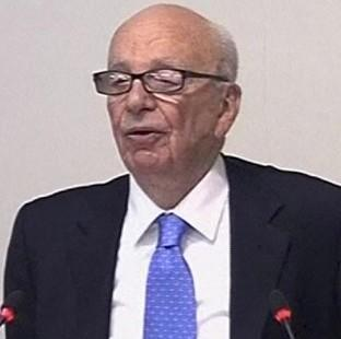 Rupert Murdoch said ex-PM Gordon Brown was 'not in a balanced state of mind' when he 'declared war' on his company
