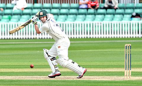 PROLIFIC: Phil Hughes has hit two centuries for Worcestershire in the CB40.