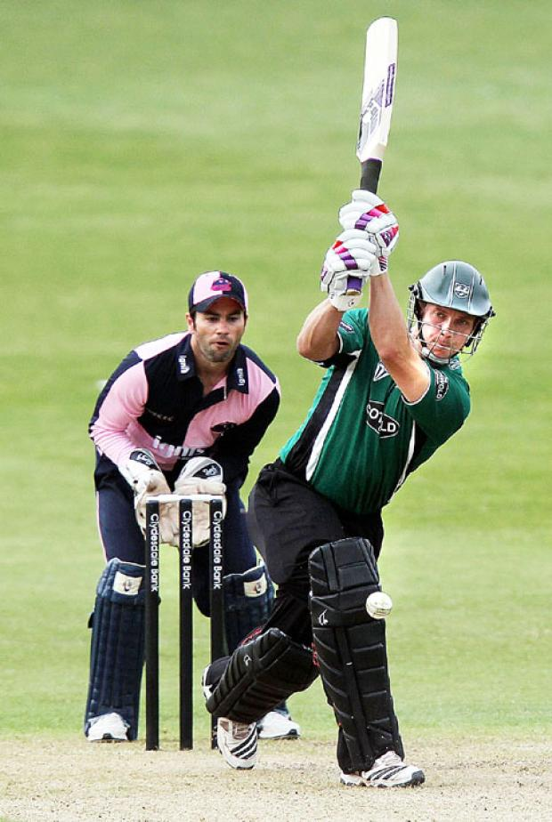 KEY: Gareth Andrew can star with bat and ball in the t20.