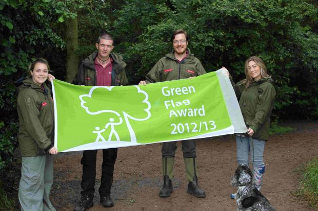 Joanne Taylor (Community Greenspace Officer), David Shepherd (Assistant Countryside Sites Officer), Martin Barnett (Countryside Sites Officer), Laura Pitt (Countryside Support Officer)