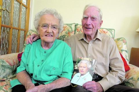 Nan and Cyril Horne celebrated their diamond wedding anniversary at their Sidemoor home last Saturday. Buy photo BMM311202b