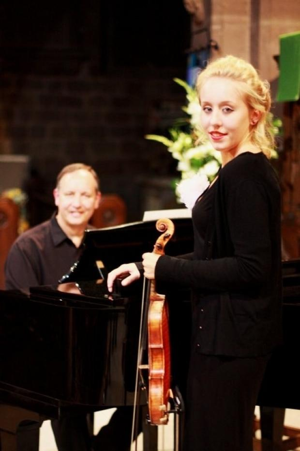 Church concert: Charlotte and Alastair Moseley will be performing an afternoon concert this Sunday. Ref:s