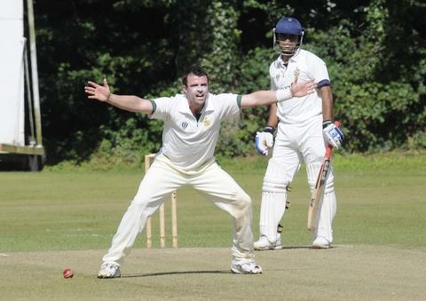 Barnt Green captain Andy Sutton.