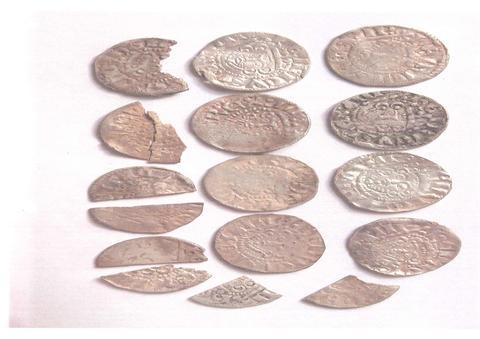 Treasure coins: The Worcestershire Coroner has declared 15 coins found in Belbroughton as treasure. Ref:s