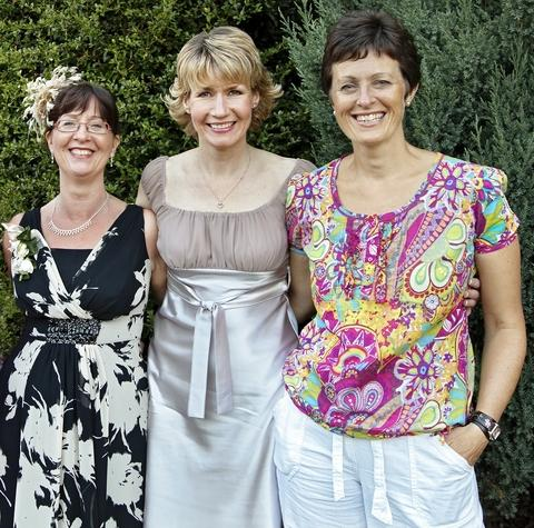 Townsend's receptionists: (from left) Mandy Haden, Sandra Linford and Fiona Quinn.