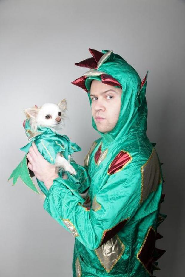 Piff The Magic Dragon with Mr Piffles.
