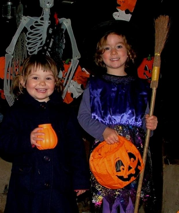 Spooky goings on: Bromsgrove youngsters are being invited to enjoy Halloween at a Stoke Heath open air museum. Ref:s