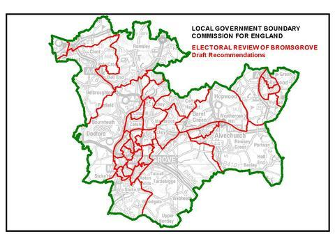 Changing map: The Government's boundary commission is asking people for their views on a possible new-look electoral map. Ref:s