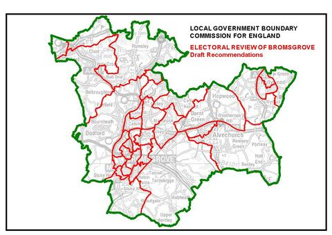Changing map: The Government's boundary com