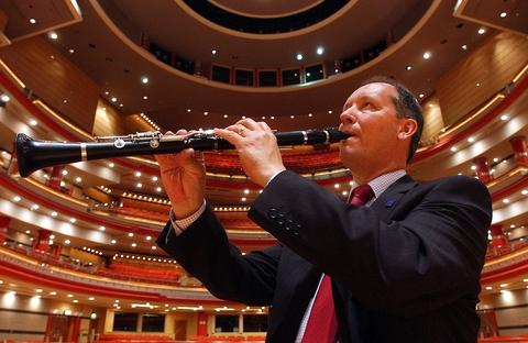 Musical treat: Alastair Moseley will be performing with the Orchestra of St John's Church at its December concert. Ref:s