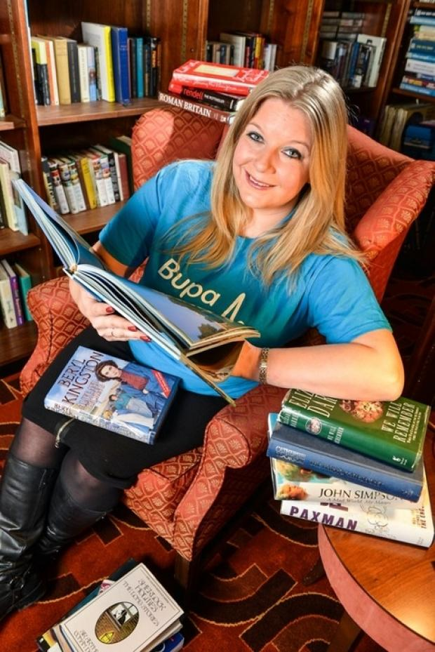 Storytellers appeal: Siobhan Drane, from Bupa, is asking storytellers to get involved with a special week of events being held at a town care home this month. Ref:s