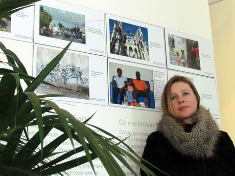 Exhibition: Ruth Edward's photos of the impact of the 2010 Haiti earthquake have featured in a Dublin exhibition. Ref:s