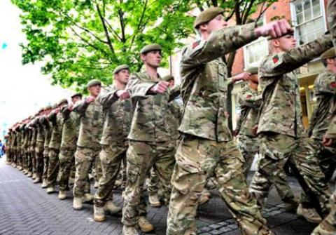 LOOK TO YOUR FRONT: Soldiers of the Mercian Regiment