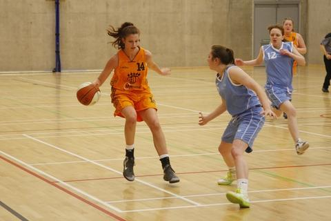 Court action: Bromsgrove Bears under-16s in action against Solvent Suns on Saturday. Picture: CRAIG ROSS