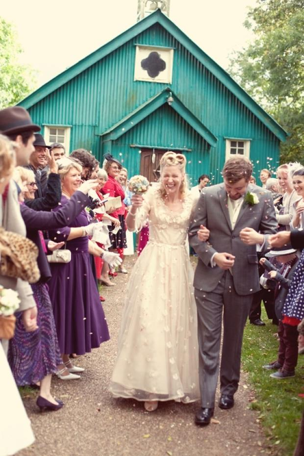 Vintage wedding: More than half of Avoncroft's 2013 weddings will be vintage-themed. Picture by Eleta Newby Photography. Ref:s