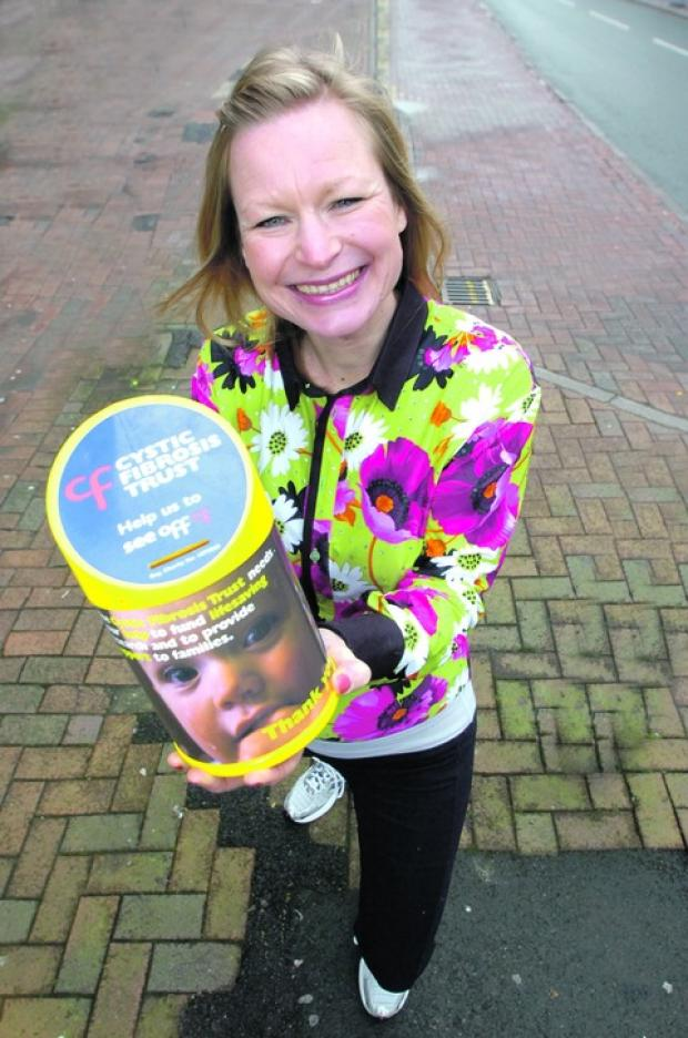 Bromsgrove Advertiser: Marathon woman: Liz Turton will be running the London Marathon this April to raise money for Cystic Fibrosis Trust.  Buy this photo BMM071304a