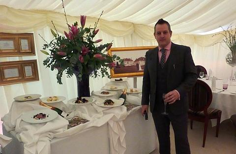 Dean Gunston, general manager of Brockencote Hall which hosted the wedding fair.