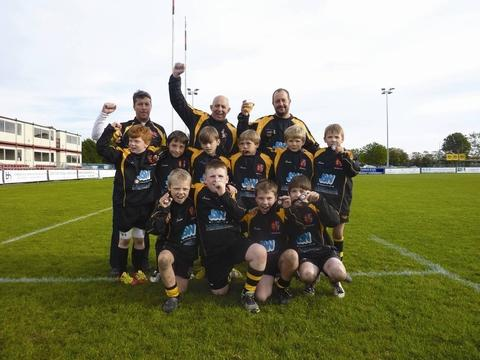 Droitwich Spa under-9s have won two pieces of silverware this season.