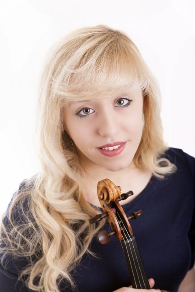 Talented: Bromsgrove resident Charlotte Moseley will be giving her first concerto performance with the Orchestra of St John's at its March concert. Ref:s