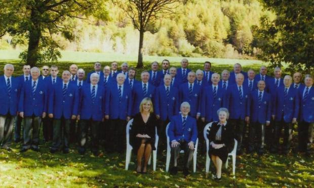 CHURCH CONCERT: Male voice choir, Ynysowen, will be performing at St John's Church this Saturday. Ref:s