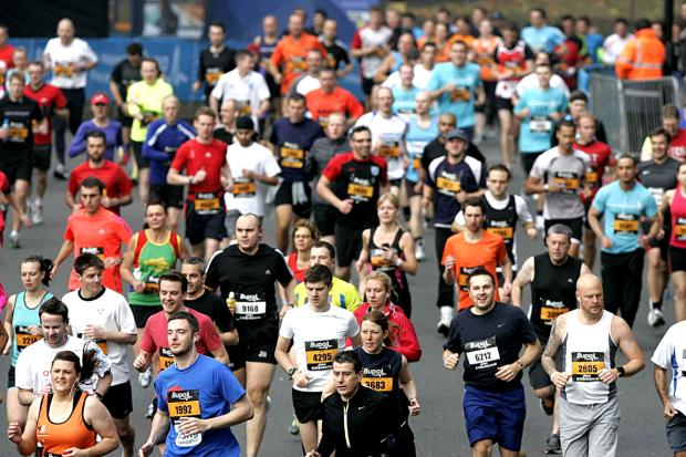 BEST FEET FORWARD: Thousands of runners will be taking part in the Bupa Great Birmingham Run later this month.
